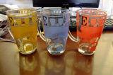 Alta calidad Glass Cup Mug para Tea Coffee con Decal