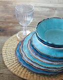 Plaque de dîner réglée de vaisselle en plastique de vaisselle de mélamine pour l'usage à la maison