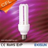 Lampade economizzarici d'energia chiare calde di 3u CFL 15W 18W 23W E27 per la casa