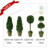 Ландшафта конструкции H60cm Topiary нового искусственний для украшения праздника