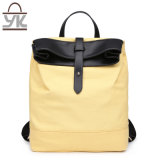 Contraste Unisex Prático Color Designer Handbag Canvas Backpack