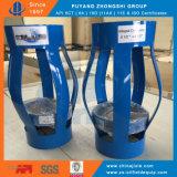Tipo integrale centralizzatore dell'arco della molla per la cementazione del giacimento di petrolio
