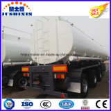 Eje 3 50000 litros de acero al carbono gasóleo / gasolina / aceite Crode / remolque del tanque químico líquido con 4 Silos