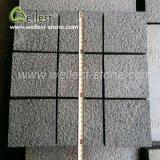 自然な石10X10ブッシュは表面を鋸で挽切った最もよい価格の端の立方体の敷石を槌で打った