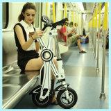 Rad-kettenloser Minifalz-elektrisches Fahrrad der Lithium-Batterie-zwei