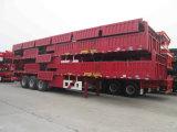 Semi-remorque de cargaison/frontière de sécurité avec le type plat mur latéral