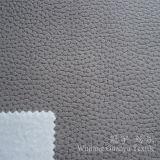Tessuto del cuoio del poliestere del pelo della pelle scamosciata con il trattamento impresso