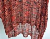 gekopierter Strickjacke-Pullover der Dame-100%Viscose runder Stutzen