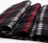 100%年の綿の糸の染められたフランネル110-150g