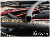 Boyau R16 hydraulique de SAE 100 avec la tresse de fil d'acier