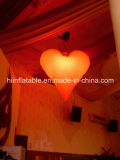 Multi gigante Colour Illuminated Inflatable Star per Event Decoration Inflatable Heart