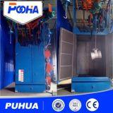 Niedriger Preis-Quart-Serien-Haken durch Typen Granaliengebläse-Reinigungs-Maschinen-Preis-Oberflächen-Reinigung