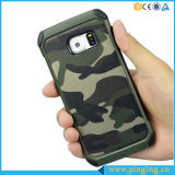 Samsung Galaxy S7/S6/S5/S4のためのハイブリッドRugged Defender Camouflage Phone Case