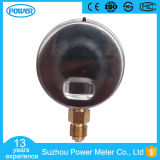 Beste 160kg Diameter 60mm de Maat van de Druk van de Olie van de Glycerine van het Roestvrij staal China Manuacturer