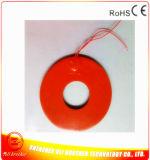 calefator elétrico redondo do silicone da almofada de aquecimento 24V