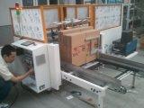 フルオートマチックの熱い溶解の/Glueの/Carton機械を建てる付着力のカートンの建設者