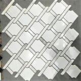 Mattonelle di pavimentazione irregolari della pietra del mosaico con colore Mixed del Patten Twisted della stringa