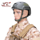 A marinha tática BJ rápido de Airsoft denomina do capacete militar da motocicleta do capacete o capacete à prova de balas