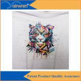 Impresora de A4 DTG para la impresión negra de la camiseta con la tinta blanca