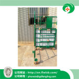 La nueva jaula plegable del rodillo de acero para el almacenaje del almacén (FL-208)