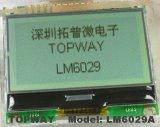 Grafik 128X64 LCD-Bildschirmanzeige LCD-Panel-Zahn-Typ LCD-Baugruppe (LM6029A)
