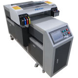 Top Selling Barniz de impresión y tinta blanca A2 Wer-Eh4880UV Flatbed Tabletop UV Printer