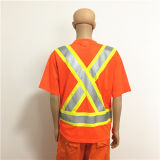 Uniforme riflettente del manicotto di Short del nastro, indumento antistatico, Workwear antistatico