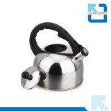 3L roter/blauer/goldener Edelstahl-Küchenbedarf-Tee-Kessel-pfeifender Kessel