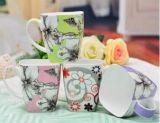 Taza de café de cerámica cuadrada barata al por mayor 11oz para la promoción