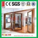 Низкая-E изолированная застекляя дверь Bifolding с высоким качеством