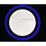(3 punti) (18+6) indicatore luminoso di comitato rotondo di colore LED di W due per superficie