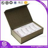 Contenitore di carta impaccante su ordinazione di lusso di estetica del regalo di Debossing