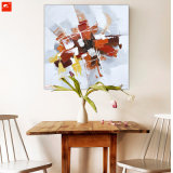 100%のハンドメイドの抽象的な油絵