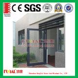 Porta de balanço de alumínio interior moderna