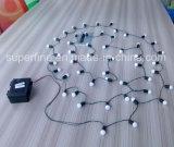Outdoor Gardon Luminosidade decorativa LED Serial String Rope Lights