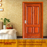 Дверь Veneer MDF Sapele деревянная (GSP6-011)