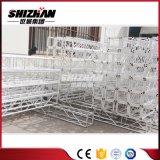 Piccolo fascio di alluminio quadrato del bullone/vite di Shizhan 250*250mm