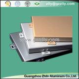 Qualitäts-hölzerne Farben-Aluminiumwand, Aluminiumdecke