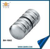 De ronde Knop van de Deur van het Messing voor het Gebruik van de Deur van het Glas van de Badkamers (BH-1002)