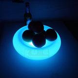 Bandeja iluminada LED de la fruta impermeable con el telecontrol usado en restaurante/fiesta de Navidad del hotel de la barra
