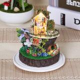 Hot DIY Doll House Story Toys pour Noël 2017
