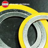 Flexibele Grafiet Spiraalvormige Wond Gasktet met Binnen en BuitenRing