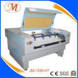 Vier-Zeiten wirkungsvolle Laser-Ausschnitt-Maschine für Drucken-Industrie (JM-1280-4T)