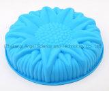 """прессформа именниного пирога силикона размера цветка 3D большая для партии Sc55 (10 """")"""