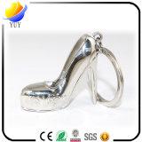 格好良い女性のハイヒールの靴の形の金属亜鉛合金のキーホルダー