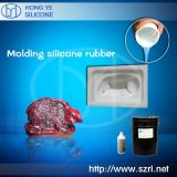 2 parts de RTV en caoutchouc de silicones pour le moulage Docowing de résine