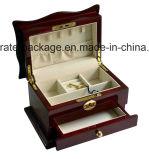 Casella di memoria di legno dei nuovi di disegno 2017 monili cosmetici eleganti del commercio all'ingrosso