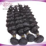 Venda por atacado de extensões de cabelo humano virgem cabelo humano brasileiro não processado brasileiro