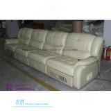 Modernes ledernes Recliner-Sofa für Heimkino (DW-1002-4S)
