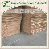madera contrachapada de madera roja de la madera dura de 15m m para las bases del suelo